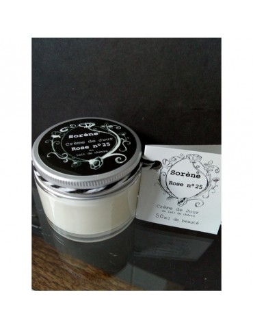 Rose Day Cream n ° 25 - Organic goat milk