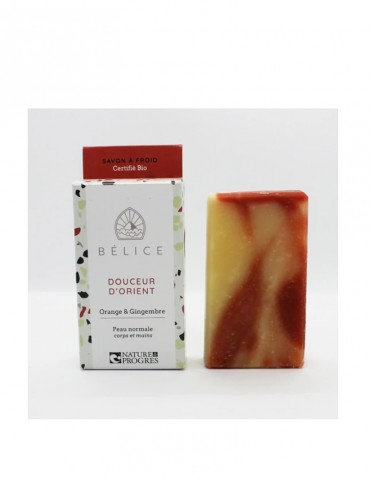 Solid soap - Oriental sweetness - Orange & Ginger