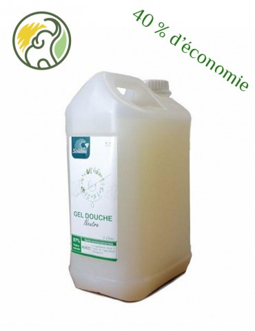 Nature shower gel - 3 ingredients - BIO - Bulk 5L