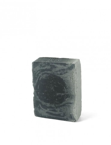 Organic solid soap - Detoxifying / makeup remover - charcoal