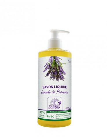 Organic Liquid Soap - Officinal Lavender - 5 Ingredients