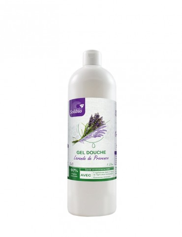 Organic shower gel - Officinal Lavender - 5 Ingredients