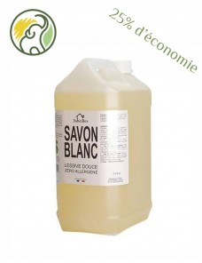 Organic white soap - Liquid laundry detergent 5 L