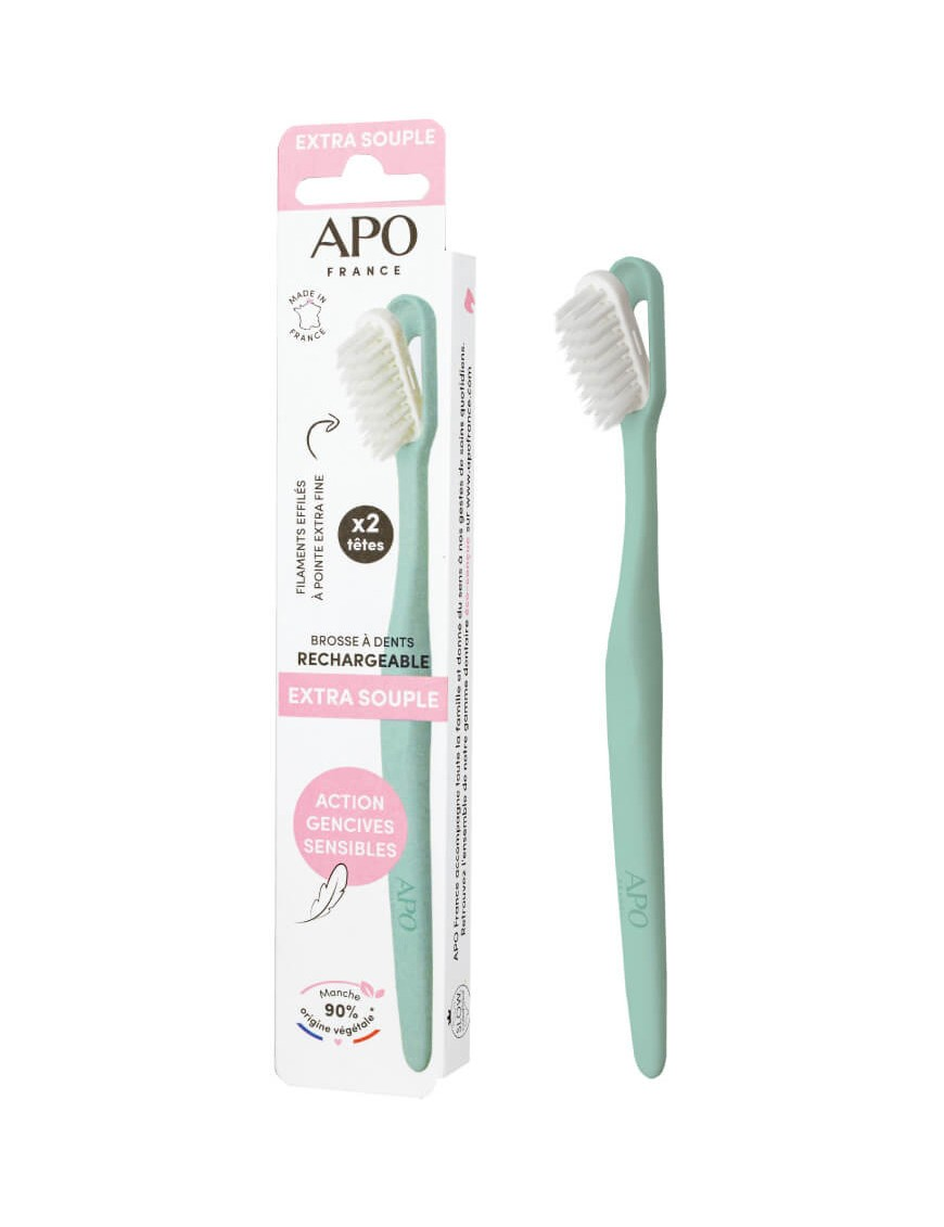 Rechargeable toothbrush - Zero waste - Extra flexible