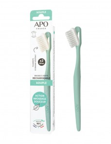 Rechargeable toothbrush - Zero waste - Soft