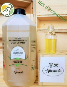 copy of Natural shower gel - BIO - Without HE - 1 l and 500 ml